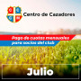 Centro Cazadores - Cuota 7/2020 - Julio 2020