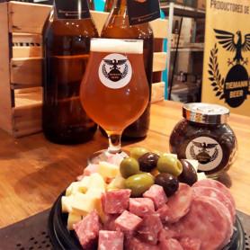 2 litros de cerveza + picada - Tiemann Beer