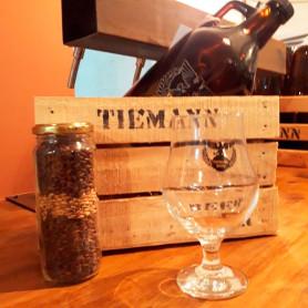 Growler + copa + cajita - Tiemann Beer