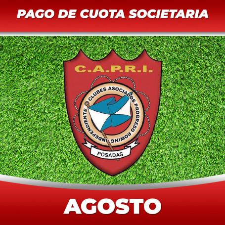 CAPRI - Cuota 8/2020 - Agosto 2020