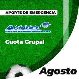 ACIADEP - Aporte De Emergencia agosto 2020