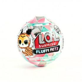LOL Fluffy Pets Glit Glob