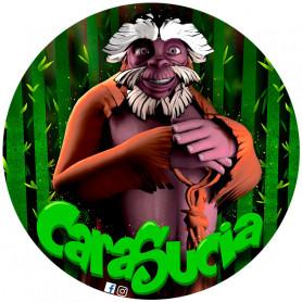 Stickers autoadhesivos de los personajes de Cara Sucia