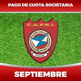 CAPRI - Cuota 9/2020 - Septiembre 2020