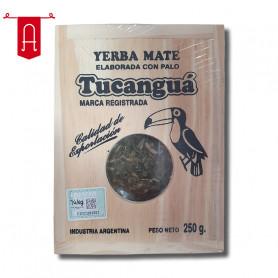 Yerba Mate Tucanguá Tradicional en Caja de Madera 250Gr