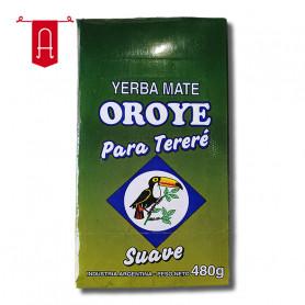 Yerba Mate Oroyé Canchada Para Tereré Suave 480Gr