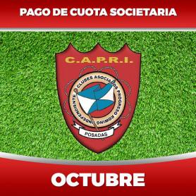 CAPRI - Cuota 10/2020 - Octubre 2020