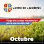 Centro Cazadores - Cuota 10/2020 - Octubre2020