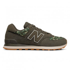 Zapatilla New Balance ML 574 COB MARRON