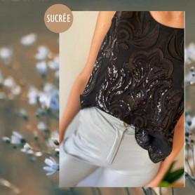 Blusa bordada - Sucrée