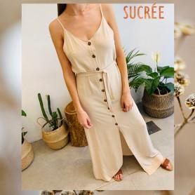 Vestido Largo - Sucrée