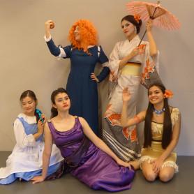 Festeja tu cumpleaños con los shows online de las Princesas - Cricri Produciones