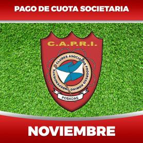 CAPRI - Cuota 11/2020 - Noviembre 2020