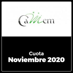 CAMEM - Cuota 11/2020 - Noviembre 2020