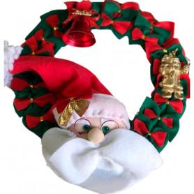 Adorno navideño para puerta