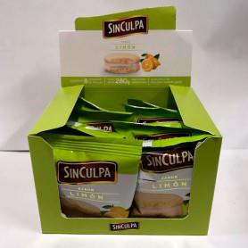 Alfajores Sin Culpa de limón  - Caja (8 Unidades)