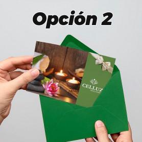 Voucher de belleza opción 2-  Celluz