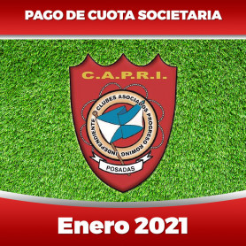 CAPRI - Cuota 01/2021 - Enero 2021
