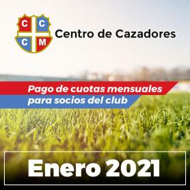 Centro Cazadores - Cuota 01/2021 - Enero 2021