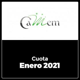 CAMEM - CUOTA 01/2021 -  ENERO 2021