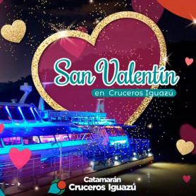 Noche previa San Valentín en el Catamarán Iguazu - Sábado 13 de Febrero